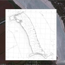 Falkenham saltmarsh 2011 Ordnance Survey map overlay
