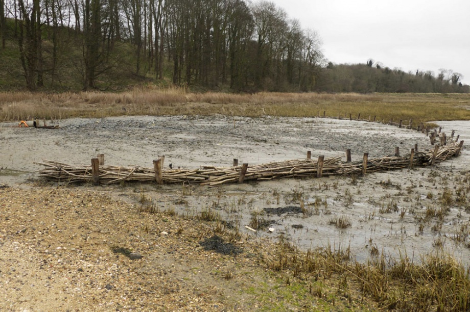 Loompit lake site after the completion of dredging operation - March 2015 (Simon Read)