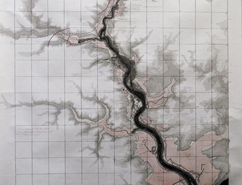 A map of the River Deben