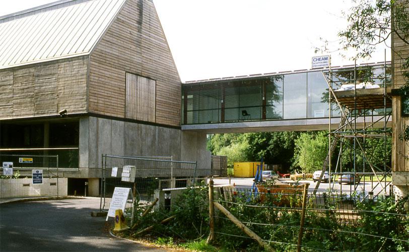 Museum showing installation location