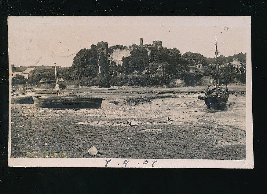 Laugharne foreshore 1907